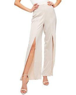 Split Front Trousers