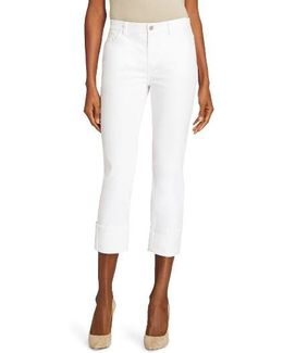 Thompson Cuffed Crop Jeans