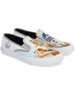 Droids Cloud Slip-on