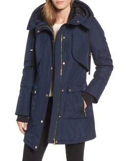 Quilted Techno Parka