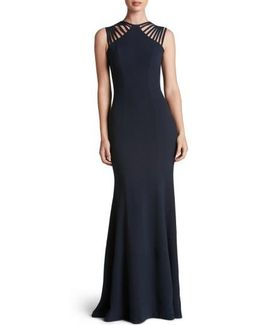 Harlow Crepe Gown