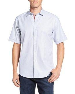 Classic Fit Dot Sport Shirt