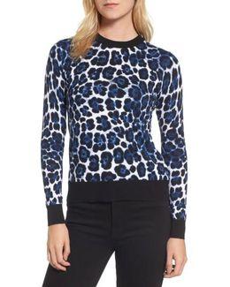 Cheetah Print Sweater