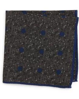 Dot Wool Pocket Square