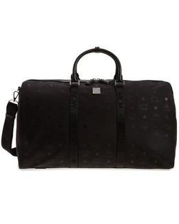 Logo Nylon Duffel Bag