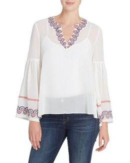 Margaret Embroidered Blouse