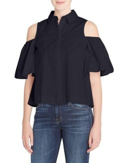 Linette Cold Shoulder Shirt