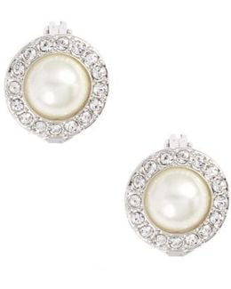 Imitation Pearl Stud Earrings