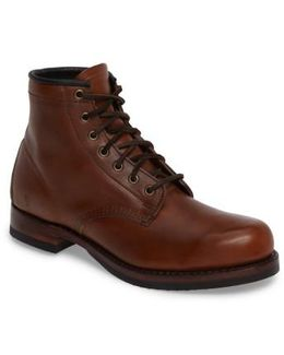 John Addison Plain Toe Boot