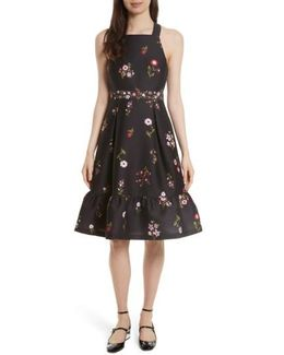 In Bloom Fit & Flare Dress