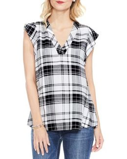 Bedford Plaid Top