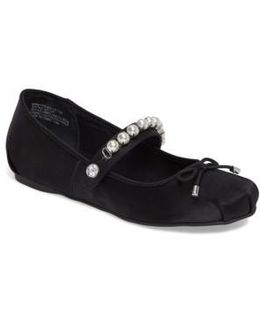 Berry Mary Jane Flat