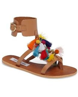Colorful Tassel Sandal