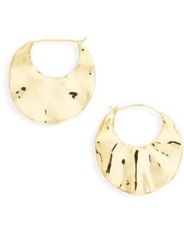 Chloe Crescent Hoop Earrings
