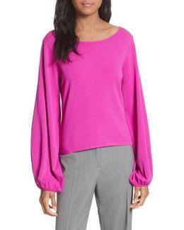 Voluminous Sleeve Sweater
