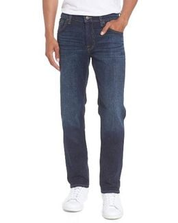 7 For All Mankind The Slimmy Straight Leg Slim Fit Jeans