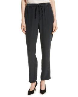 Easy Silk Pants