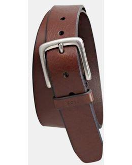 'joe' Leather Belt