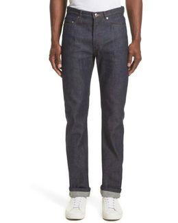 High Waist Standard Selvedge Jeans