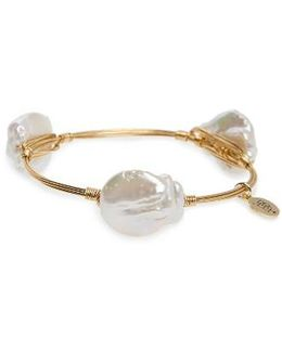 Bourbon & Boweties Cultured Pearl Bracelet