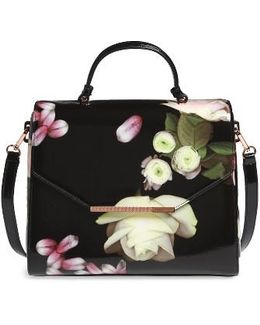 Large Kensington Lady Bag Top Handle Satchel