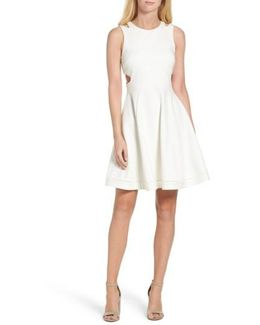 Lula Stretch Fit & Flare Dress