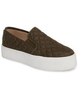 Ecentrcq Quilted Platform Sneaker