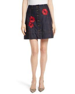 Poppy Denim Skirt