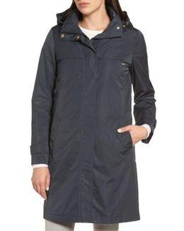 Raincoat With Detachable Hood