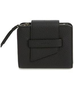Small Ray Leather Wallet