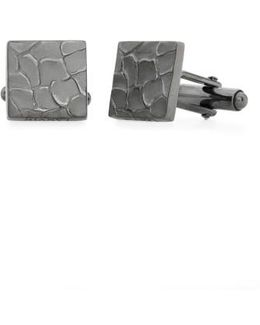 Textured Square Cuff Links