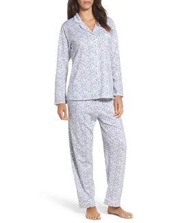 Ditsy Print Pajamas