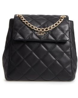 Emerson Place - Martina Quilted Leather Backpack