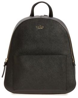 Cameron Street Marisole Leather Backpack