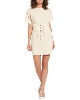 Corset T-shirt Dress