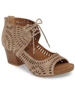 Modesto Perforated Sandal