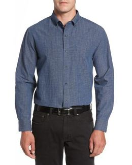 Almeria Standard Fit Plaid Sport Shirt