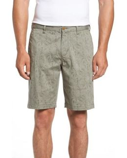 Camo Tropic Standard Fit Chino Shorts