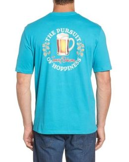 The Pursuit Of Hoppiness Graphic T-shirt