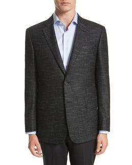 Trim Fit Wool Blend Blazer