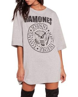 Ramones T-shirt Dress