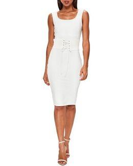 Corset Belt Body-con Dress