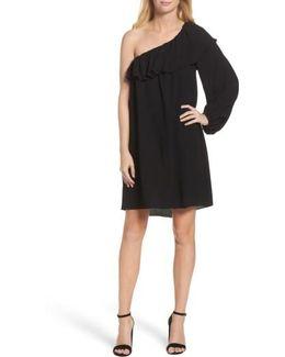 Evening Dew One-shoulder Dress