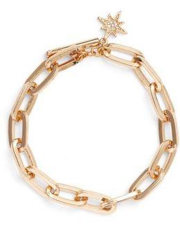 Signature Link Star Charm Bracelet