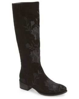 Callback Embroidered Boot