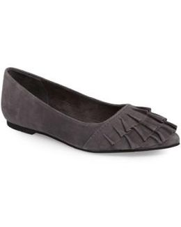 Downstage Pointy Toe Flat