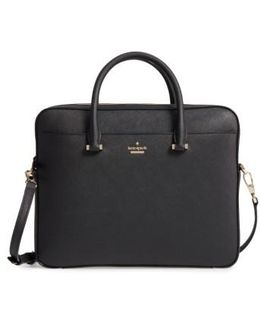 Saffiano Leather Laptop Bag