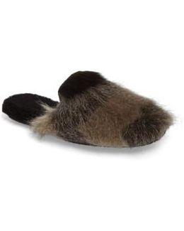 Hideaway Faux Fur Mule