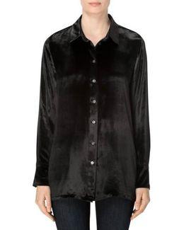 Nora Velvet Shirt