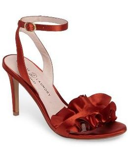 Janey Ruffled Sandal